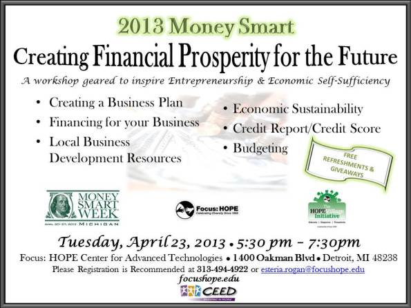 2013 MoneySmart Flyer