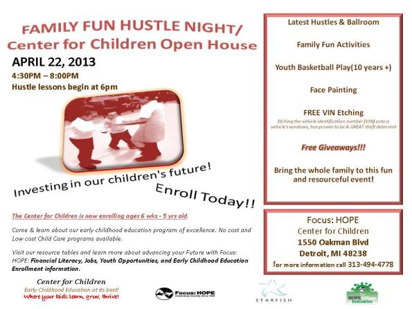 Family - Open House Flyer